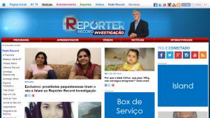 Reporter Record Investigação - Rede Record